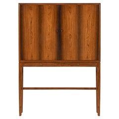 Ole Wanscher Cabinet Produced by Cabinetmaker a.J Iversen in Denmark