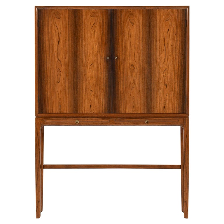 Ole Wanscher Cabinet Produced by Cabinetmaker a.J Iversen in Denmark For Sale