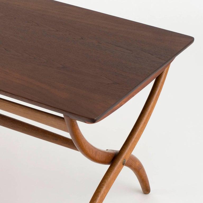 Danish Ole Wanscher Coffee Table for Rud. Rasmussen For Sale