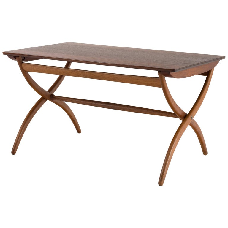 Ole Wanscher Coffee Table for Rud. Rasmussen For Sale