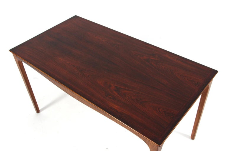 Danish Ole Wanscher Coffee Table, Rosewood, A. J. Iversen For Sale