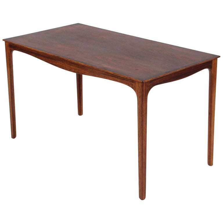Ole Wanscher Coffee Table, Rosewood, A. J. Iversen For Sale