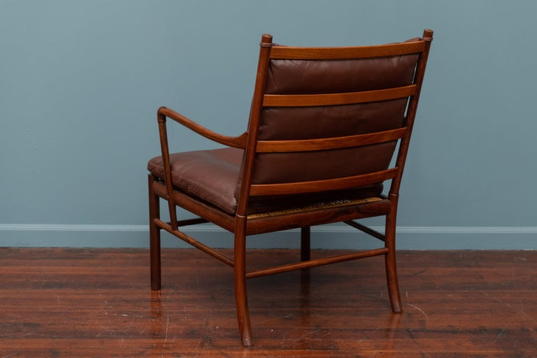 Ole Wanscher Colonial Armchair in Rosewood For Sale 2