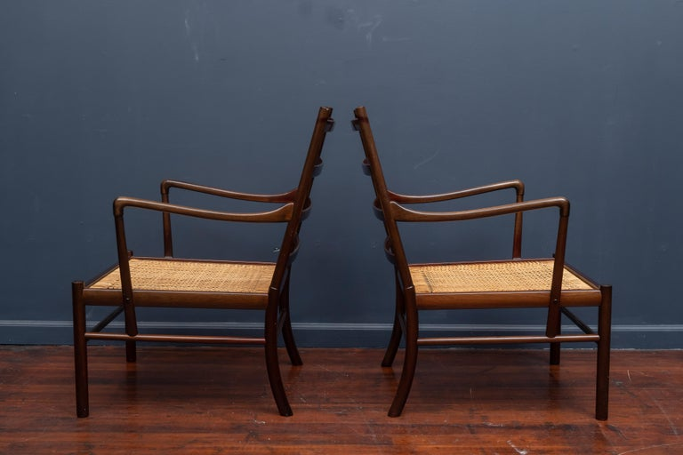 Ole Wanscher Colonial Chairs In Good Condition For Sale In San Francisco, CA