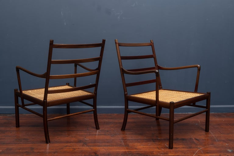 Mahogany Ole Wanscher Colonial Chairs For Sale
