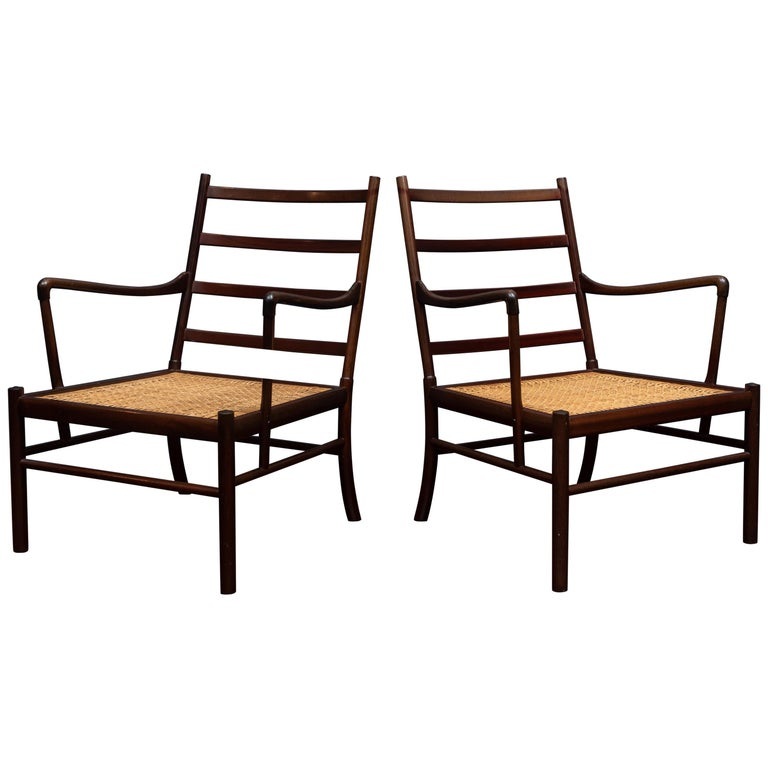 Ole Wanscher Colonial Chairs For Sale