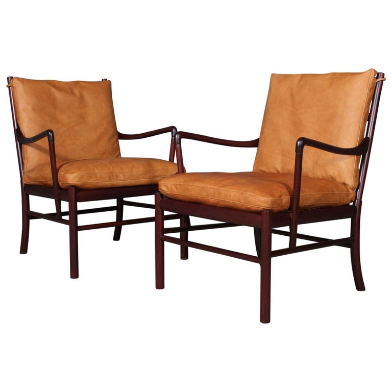 Ole Wanscher Colonial Chairs
