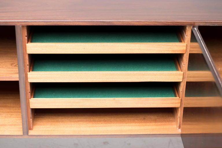 Ole Wanscher Danish Mahogany Sideboard For Sale 3