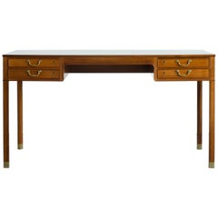 Ole Wanscher Desk in Rosewood for A. J. Iversen