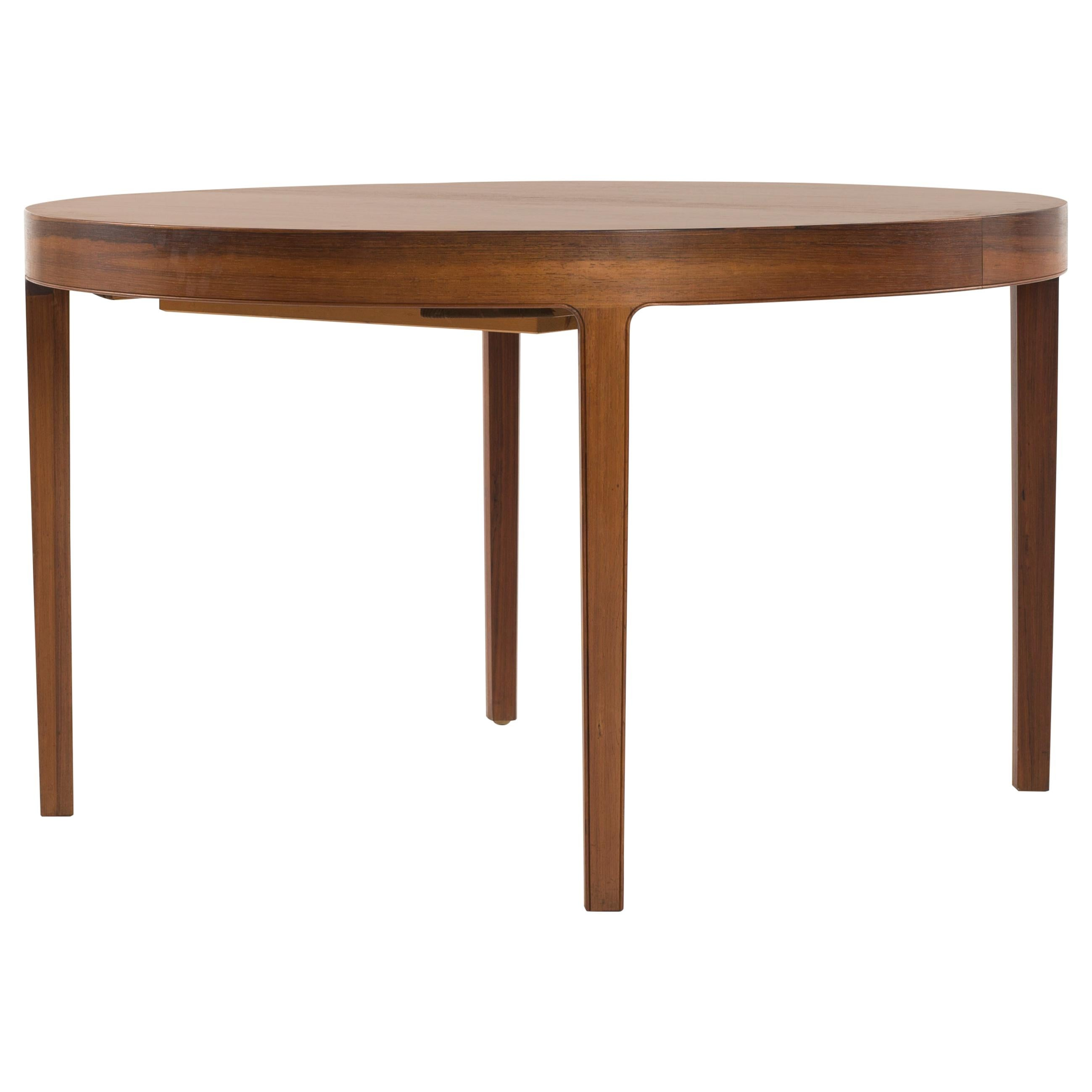 Ole Wanscher Extendable Dinning Table in Rosewood