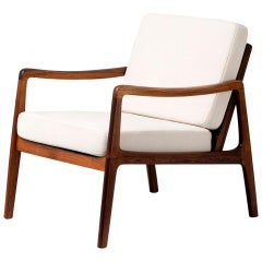 Ole Wanscher FD-119 Rosewood Lounge Chair