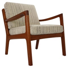 "Ole Wanscher ""FD109"" Teak senator Lounge Chair For France & Søn, 1956, Denmark"