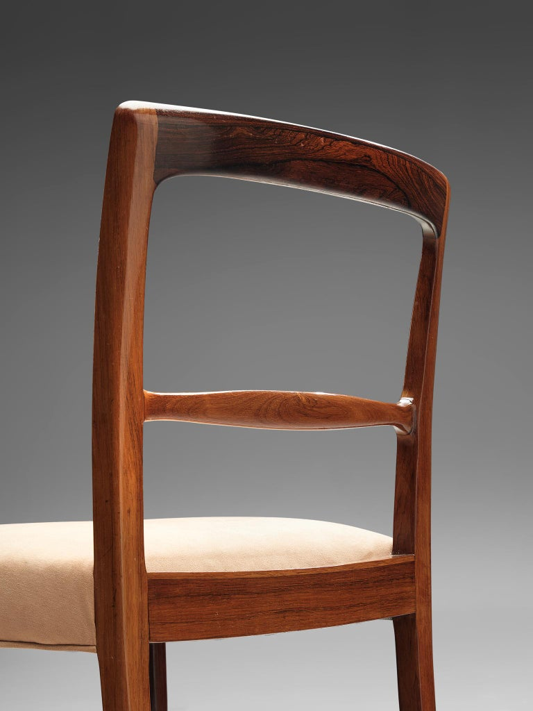 Danish Ole Wanscher for AJ Iversen Set of Eight 'Forum' Chairs
