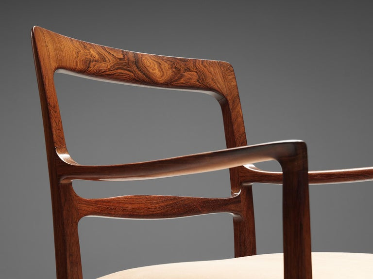 Mid-20th Century Ole Wanscher for AJ Iversen Set of Eight 'Forum' Chairs