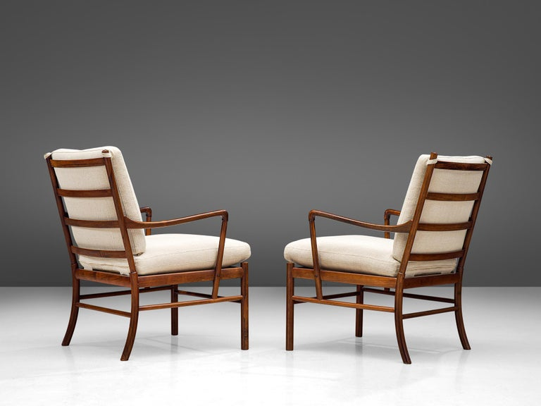 Ole Wanscher for Poul Jeppesen Pair of 'Colonial' Armchairs 1