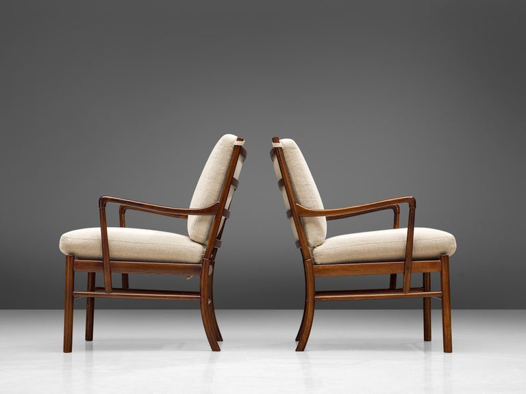 Ole Wanscher for Poul Jeppesen Pair of 'Colonial' Armchairs 2
