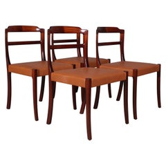 Ole Wanscher Four Dining Chairs