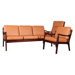 Ole Wanscher Living Room Set, Senator