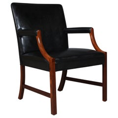 Ole Wanscher Lounge Chair, Brazilian Rosewood