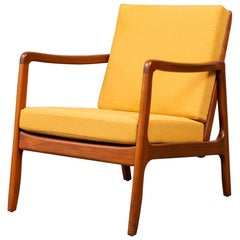 Ole Wanscher Lounge Chair for France & Søn