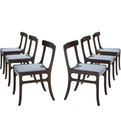 Pair of Ole Wanscher Mahogany 'Rungstedlund' Dining Chairs