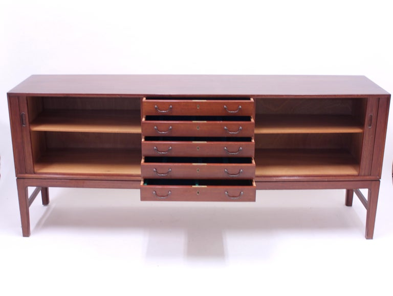 Ole Wanscher Mahogany Sideboard, A.J. Iversen, 1940s For Sale 4