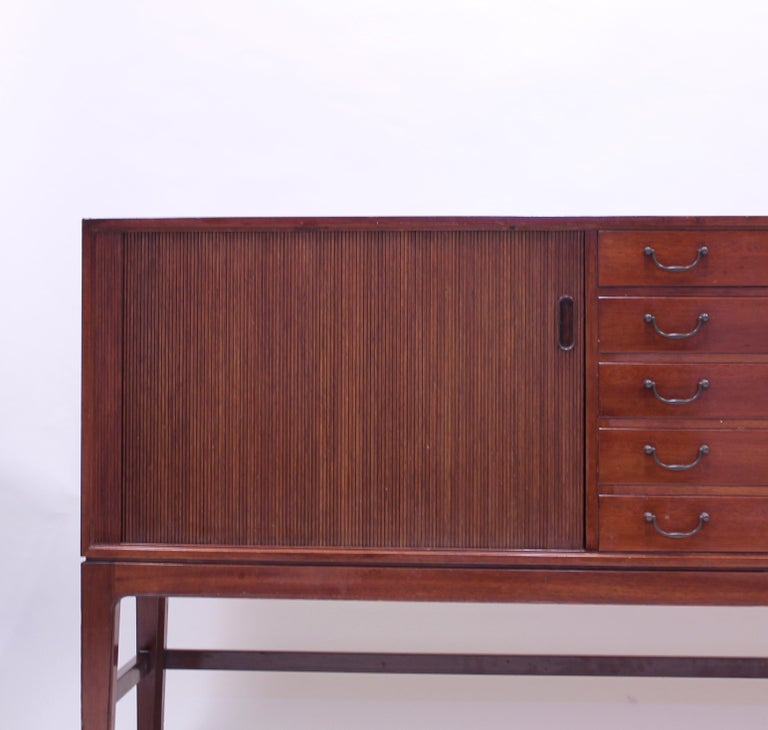 Ole Wanscher Mahogany Sideboard, A.J. Iversen, 1940s For Sale 9
