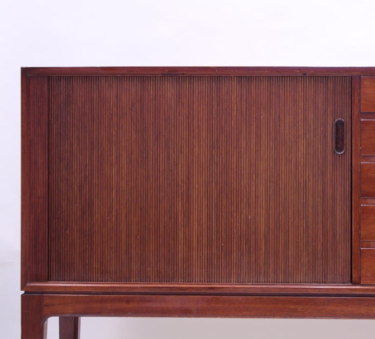 Ole Wanscher Mahogany Sideboard, A.J. Iversen, 1940s For Sale 10