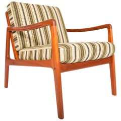 Ole Wanscher Model 109 Teak Lounge Chair