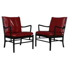 Ole Wanscher Pair of Colonial Chairs