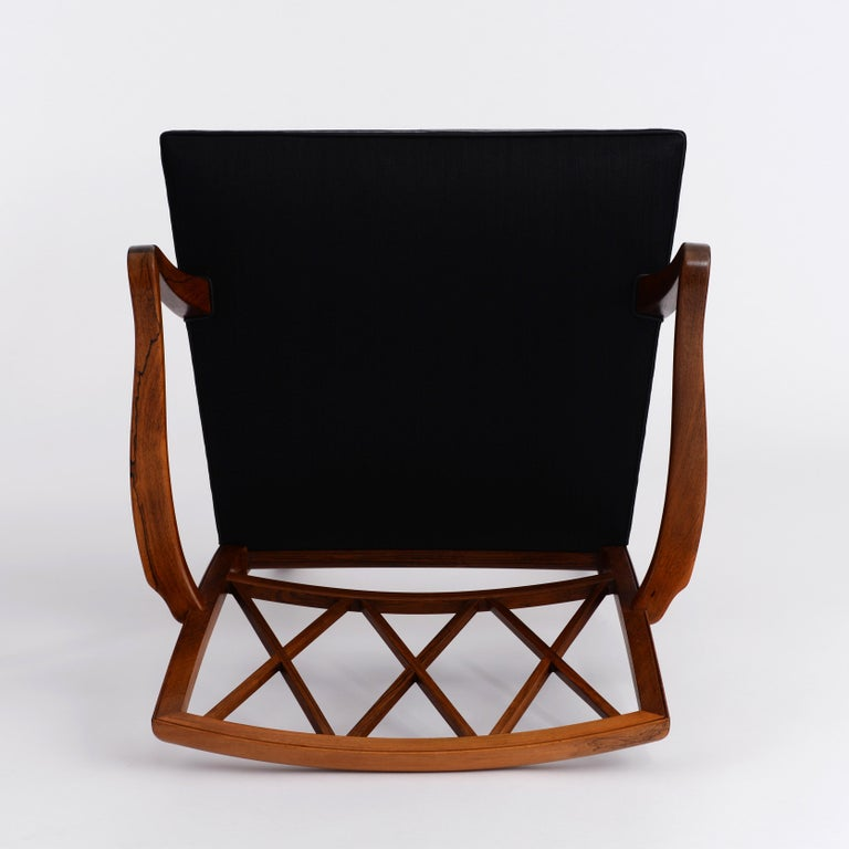 20th Century Ole Wanscher Pair of Rosewood Armchairs for A. J. Iversen For Sale