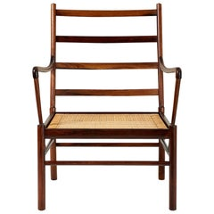 Ole Wanscher Rosewood Colonial Chair, 1949