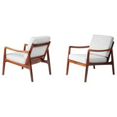 Ole Wanscher Lounge Chairs, circa 1960