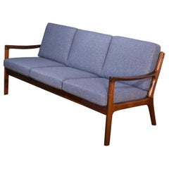 Ole Wanscher Rosewood Senator Sofa For France & Son