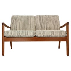 Ole Wanscher Senator 166 Teak 2-Seater Sofa for France & Søn, 1960 Denmark