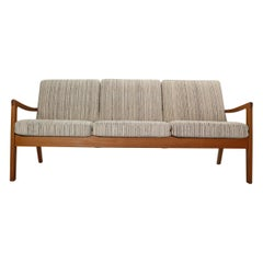 Ole Wanscher Senator 166 Teak 3-Seater Sofa for France & Søn, 1960, Denmark