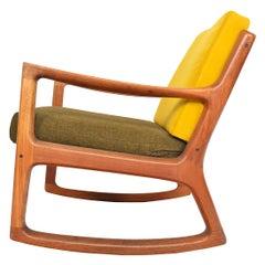 Ole Wanscher Senator Rocking Chair in Teak, Midcentury Danish Modern