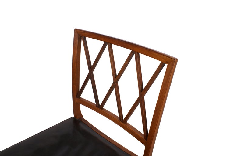 Scandinavian Modern Ole Wanscher Set of 8 Dining Chairs, Rosewood by Cabinetmaker A.J. Iversen, 1942 For Sale