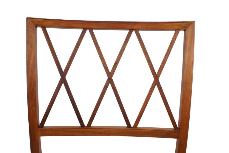 Ole Wanscher Set of 8 Dining Chairs, Rosewood by Cabinetmaker A.J. Iversen, 1942 For Sale 1