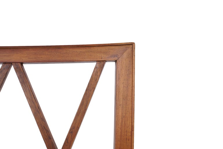 Ole Wanscher Set of 8 Dining Chairs, Rosewood by Cabinetmaker A.J. Iversen, 1942 For Sale 3