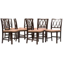 Ole Wanscher Set of Eight Mahogany Dining Chairs