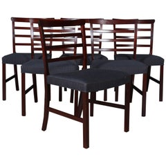 Ole Wanscher Six Dining Chairs
