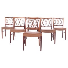 Ole Wanscher Slagelse Rosewood Dining Chairs