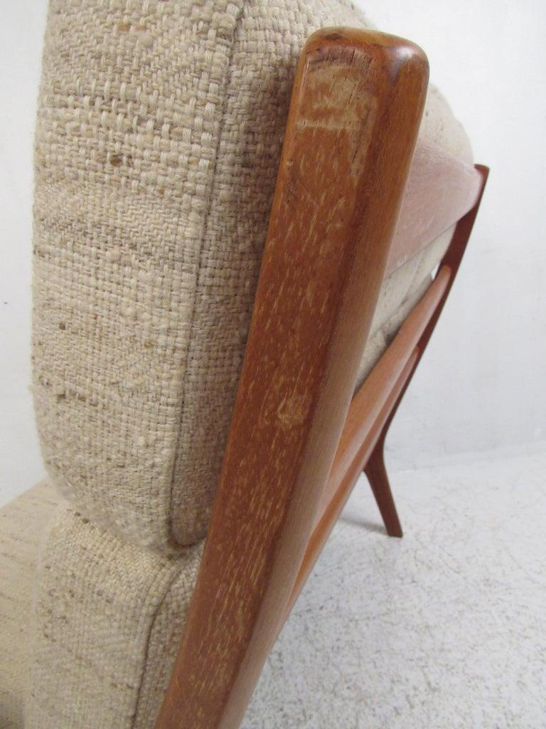 Ole Wanscher Teak 'Senator' Sofa For Sale 3