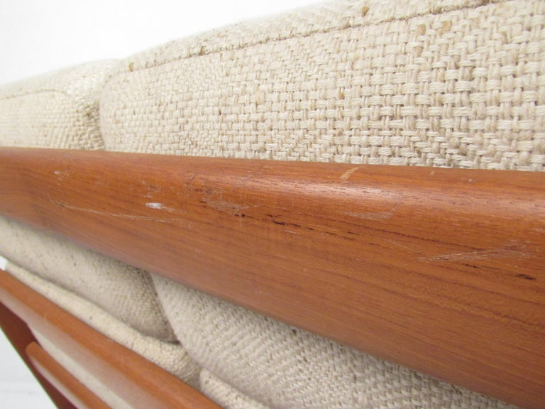 Ole Wanscher Teak 'Senator' Sofa For Sale 4