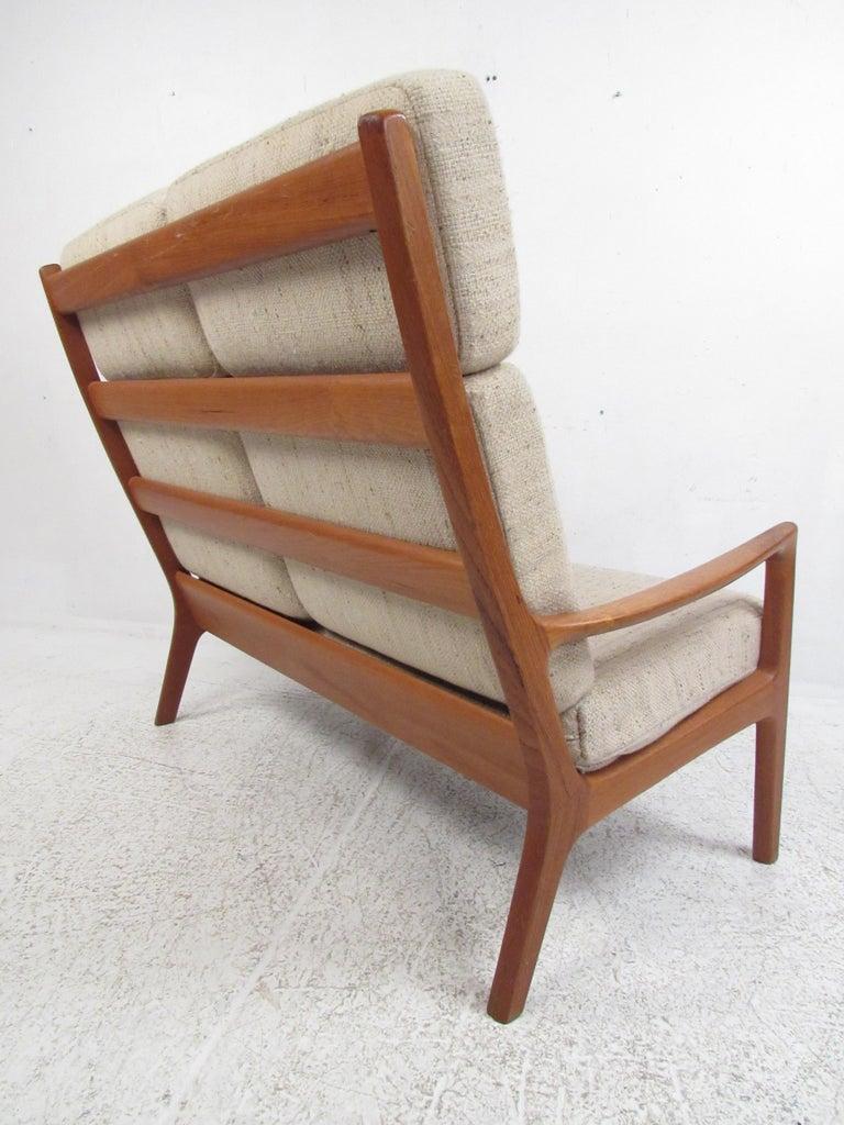Danish Ole Wanscher Teak 'Senator' Sofa For Sale