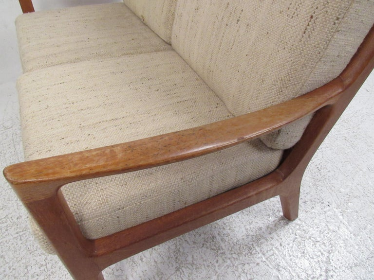 Ole Wanscher Teak 'Senator' Sofa For Sale 2
