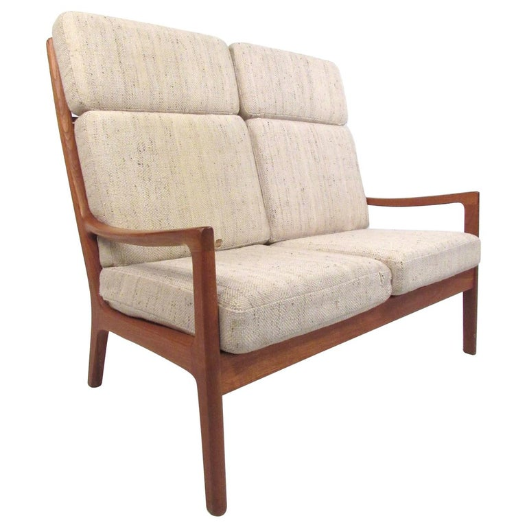 Ole Wanscher Teak 'Senator' Sofa For Sale