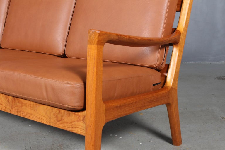Danish Ole Wanscher Three-Seat Sofa For Sale