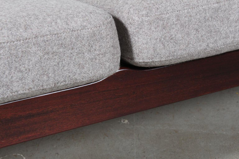 Mid-20th Century Ole Wanscher Three-Seat Sofa For Sale
